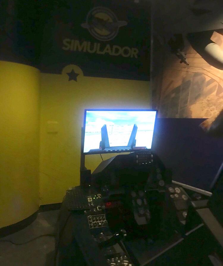 centro cultural trampolim da vitória simulador de voo
